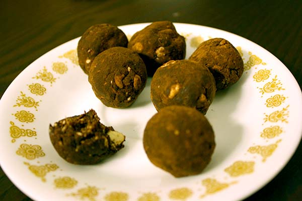 raw vegan truffles