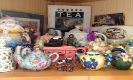 Some of my tea pot collection
