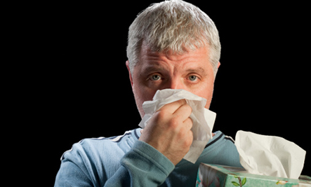 Soothe a Stuffy Nose Without Medicine - sneeze
