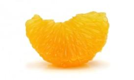 orange slice from mandarin