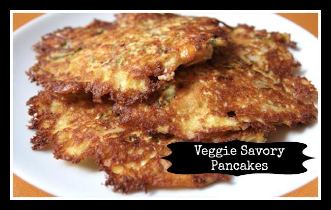 Savory Veggie Pancakes