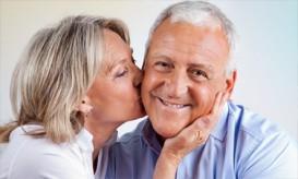 Happy Older Man and Women