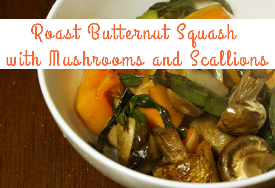 Thanksgiving Recipes Roasted Squash
