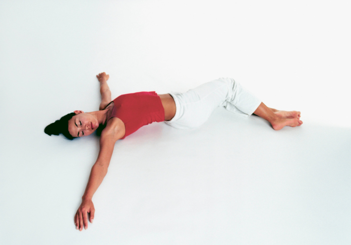 Yoga for Beginners Reclined Twist