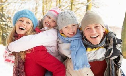 Happy Familly In Winter | Care2 Healthy Living