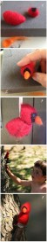Felted bird how-to (Photo by NCC)