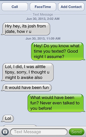 8 creepy texts from online dates care2 healthy living