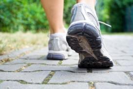 Sport shoes walking