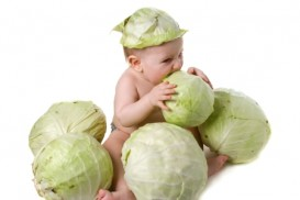 Were you born in a cabbage patch?