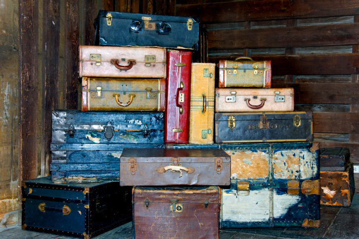 23 Hacks For Vintage Suitcases | Care2 Healthy Living
