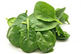Spinach is known for creating super strenth in cartoon characters but it's value for you is it's alkalizing minerals.