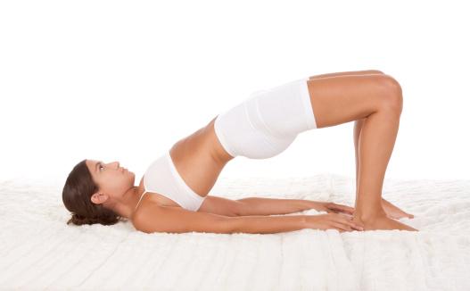 Yoga for Insomnia: Bridge Pose