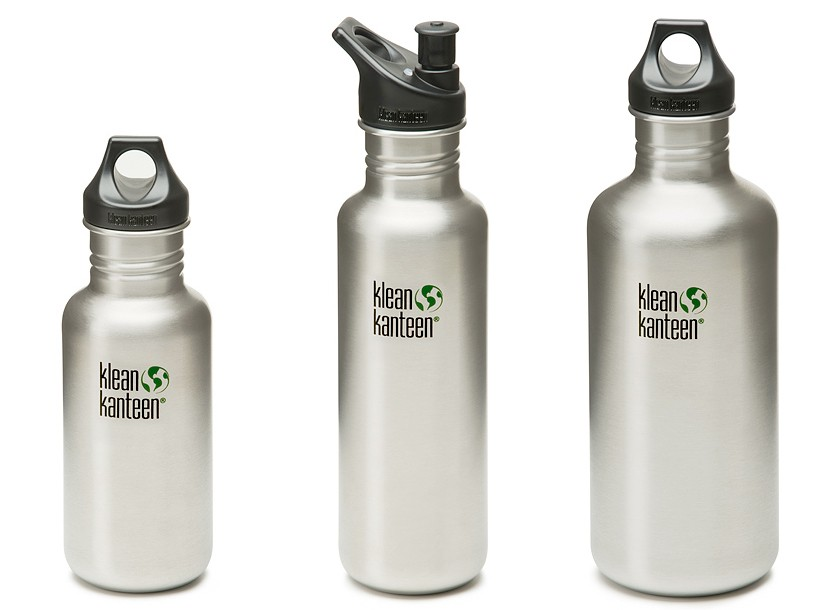 Kleen Kanteen stainless steel bottles
