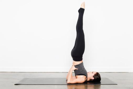 Yoga for Insomnia: Shoulder Stand