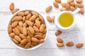 The more unrefined the almond oil, the greater the almond taste.