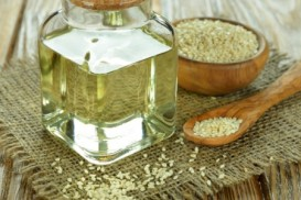 Sesame oil is very high in antioxidants.