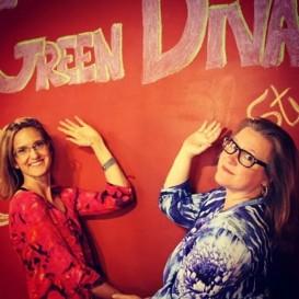 Green Diva Lynn & Host Green Diva Meg