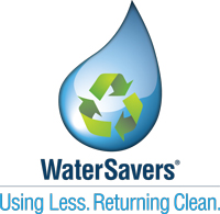 Look for the WaterSavers logo to ensure your car wash saves and recycles water.