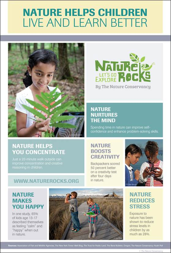 Nature Rocks Infographic