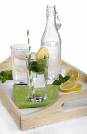 water bottle glass