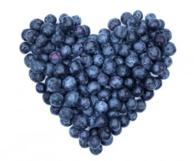 Blueberries can help your heart!