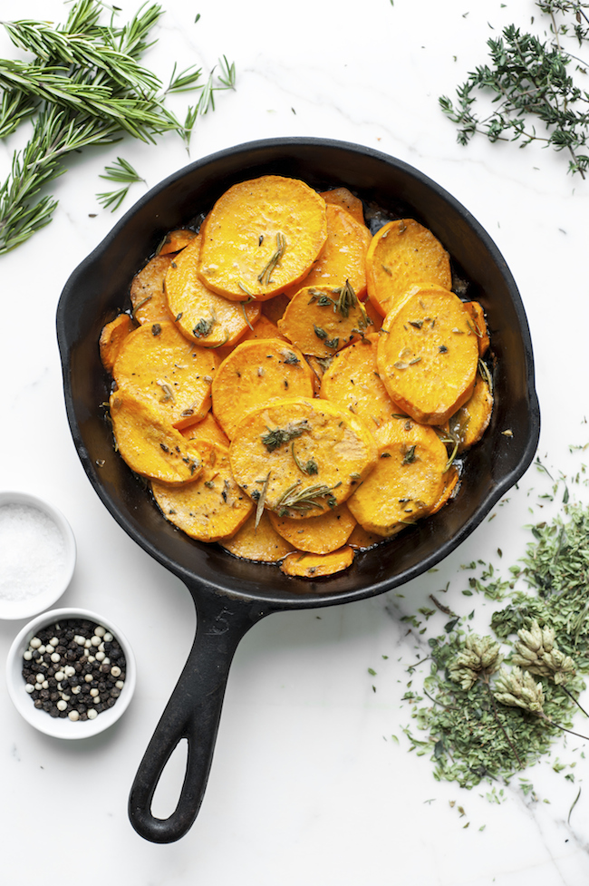 Sauteed Sweet Potatoes