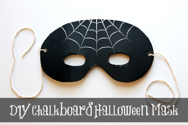 homemade halloween decorations make a spooky mask garland - How To Make A Halloween Decoration