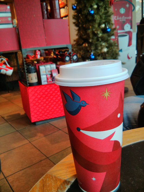 Peppermint Mocha - Starbucks
