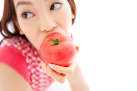 Eating fruit raw if often more healthy but may not be with tomatoes.