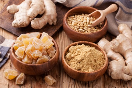 Ginger has many health and medicinal benefits.