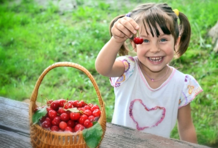 Cherries don't just taste and look good.  They have many health benefits.