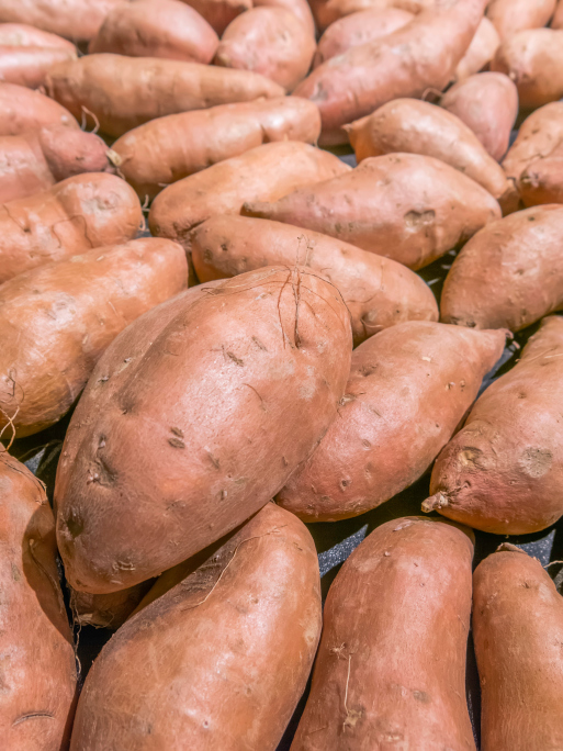 Whether you eat them steamed, mashed, or baked, there are lots of good reasons to love sweet potatoes! Here are some surprising health benefits of this orange veggie.