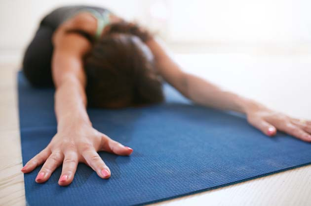 16 Gentle Yoga Poses for Cold and Flu Season