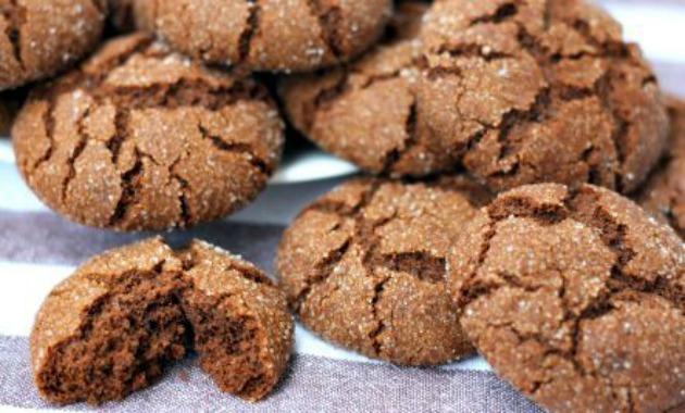 vegan ginger cookies