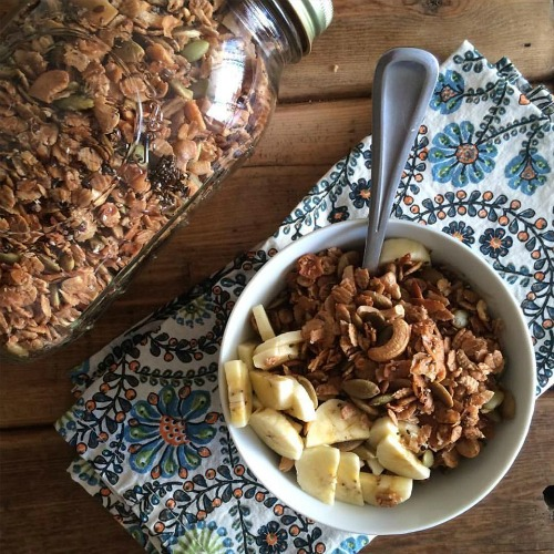 Spelt granola + other wonderful ways to use this ancient whole grain.