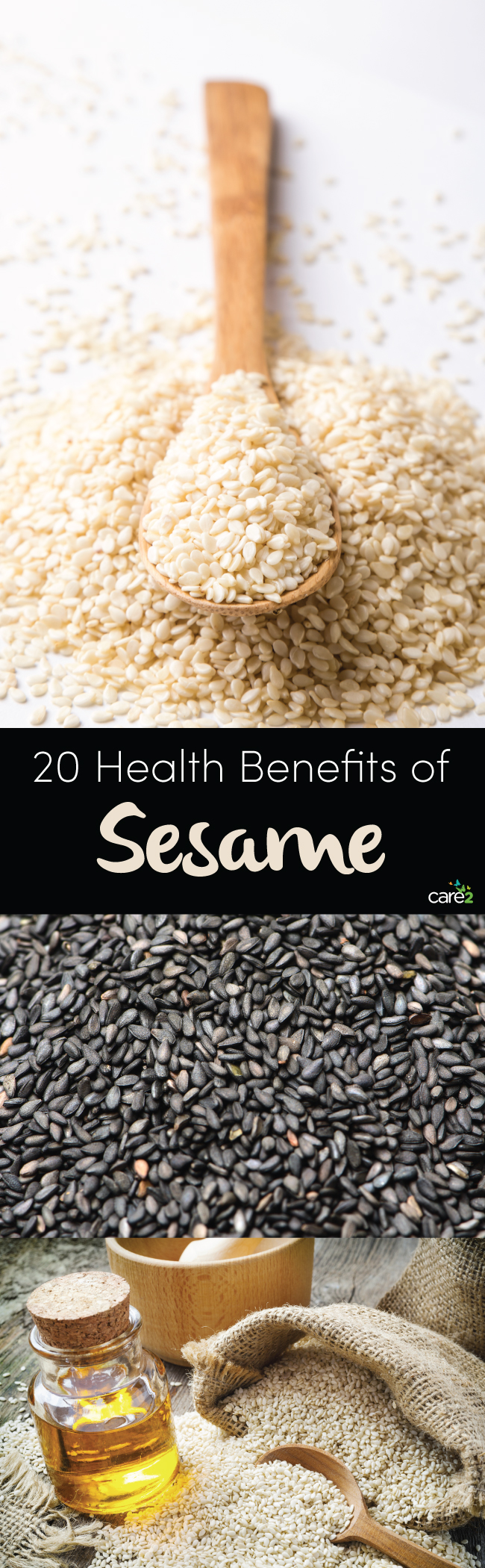 20 Health Benefits of Sesame