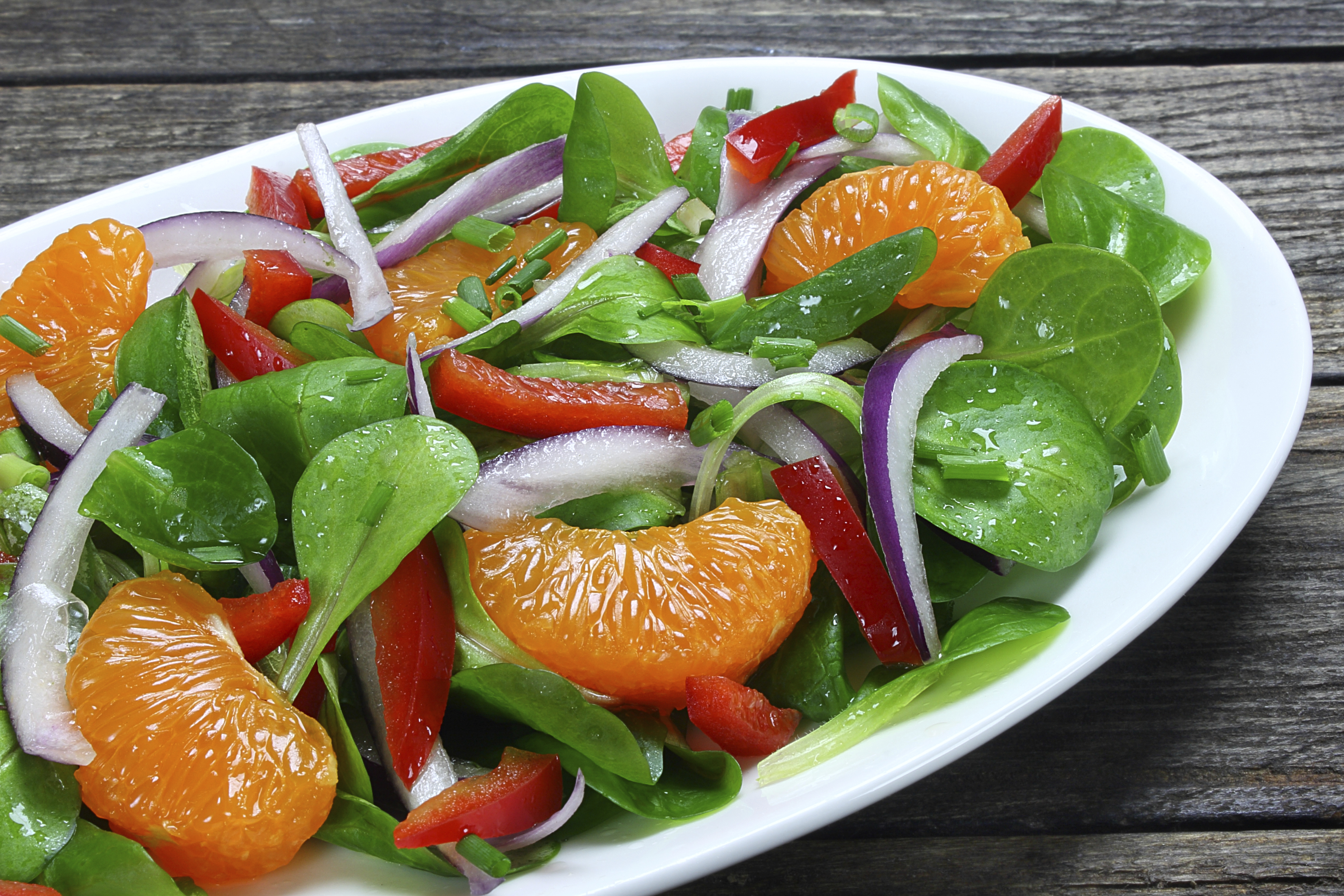 Salad is a great make-ahead lunch!