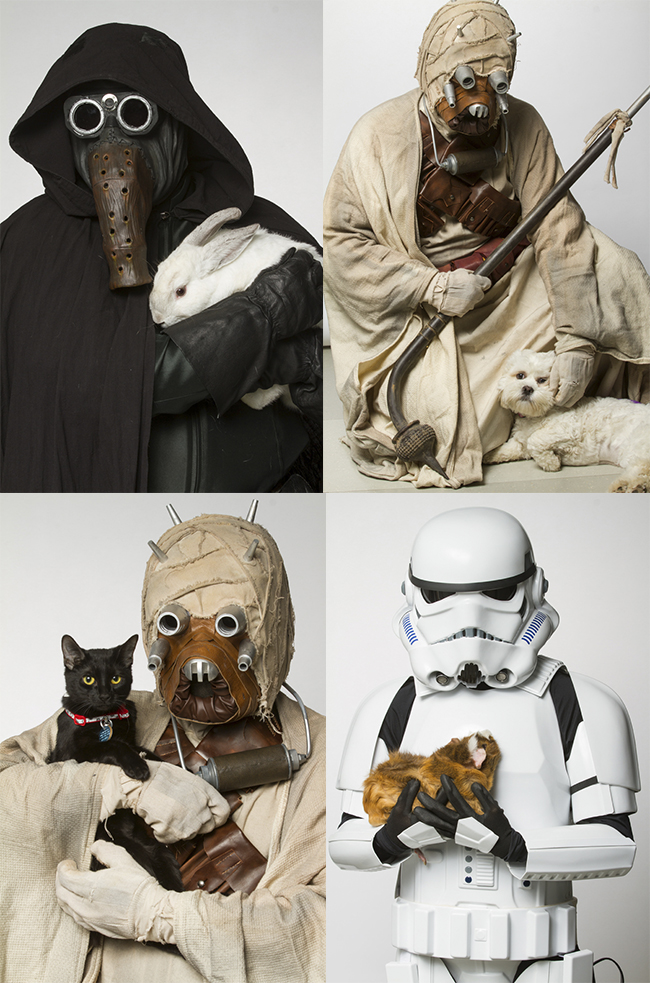 star wars collage