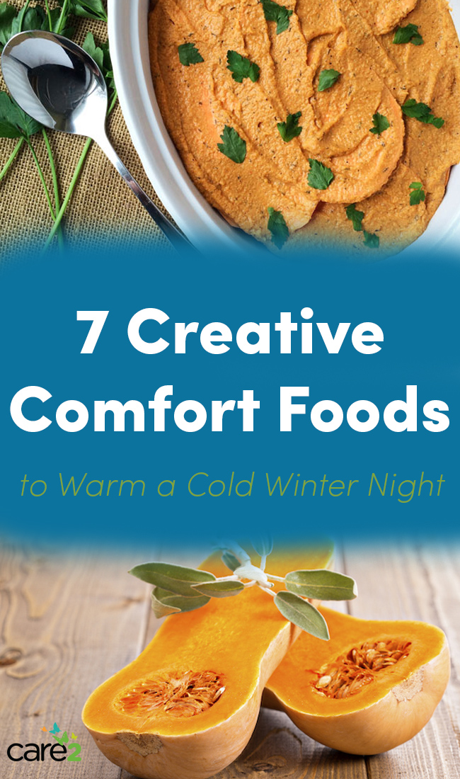 7 creative comfort foods winter