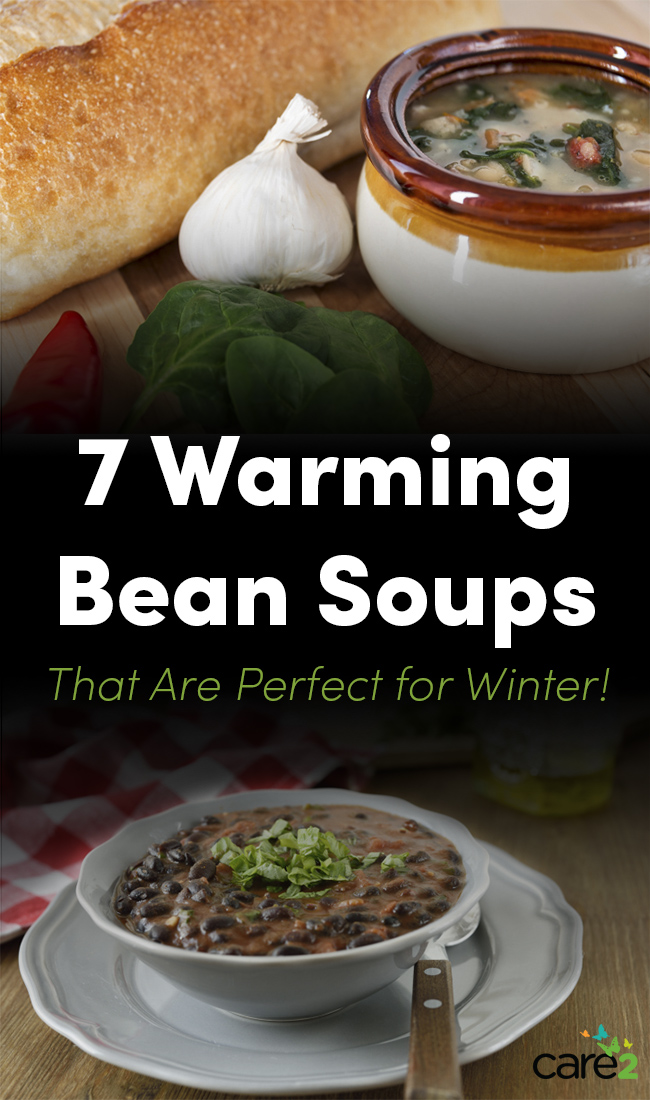 Bean soups for winter