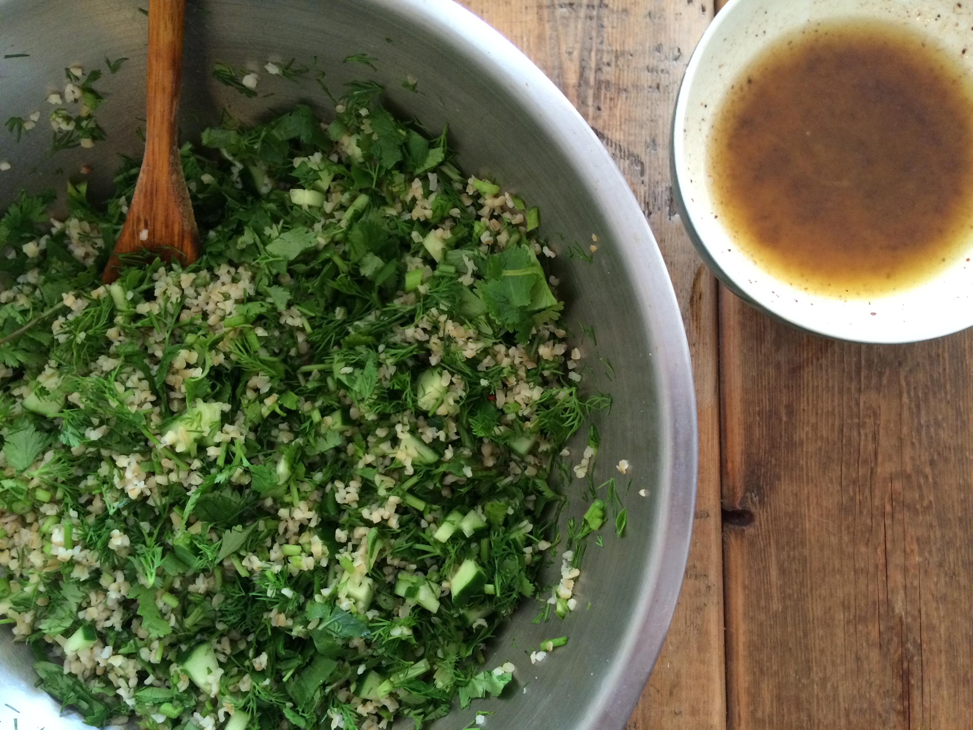 freekeh herb salad recipe