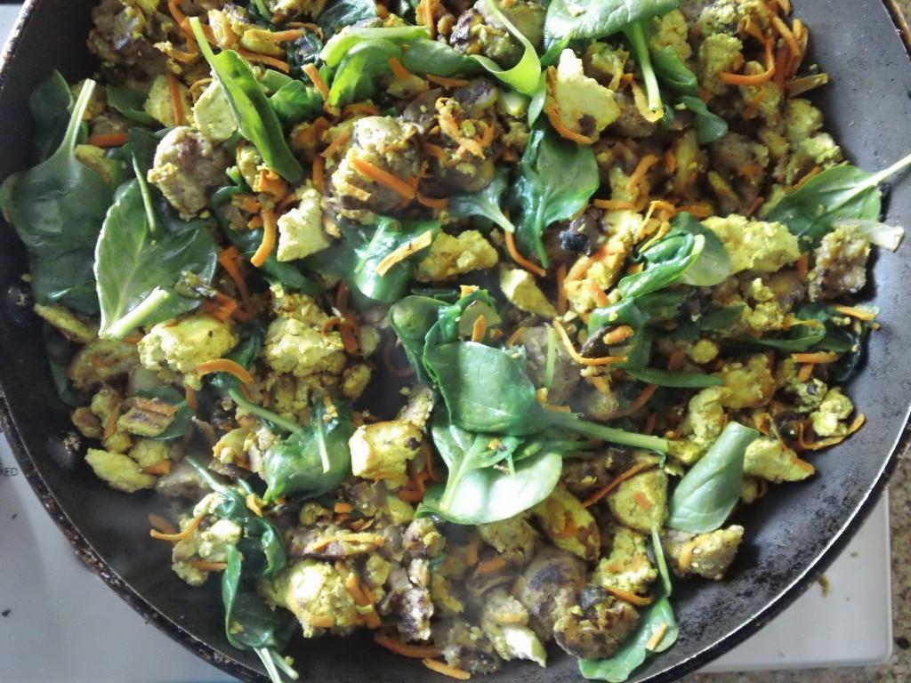 tofu scramble vibrant wellness
