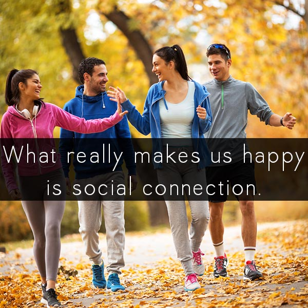 What really makes us happy?
