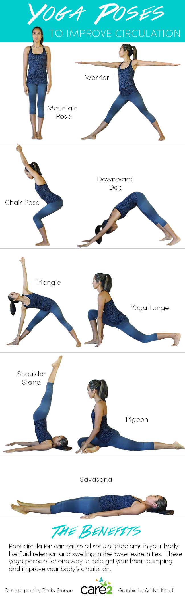Yoga Poses to Improve Circulation
