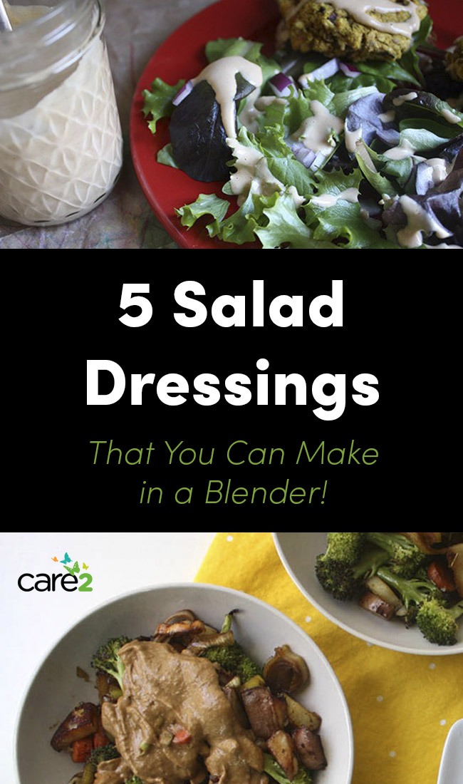 5 salad dressings you can make in a blender