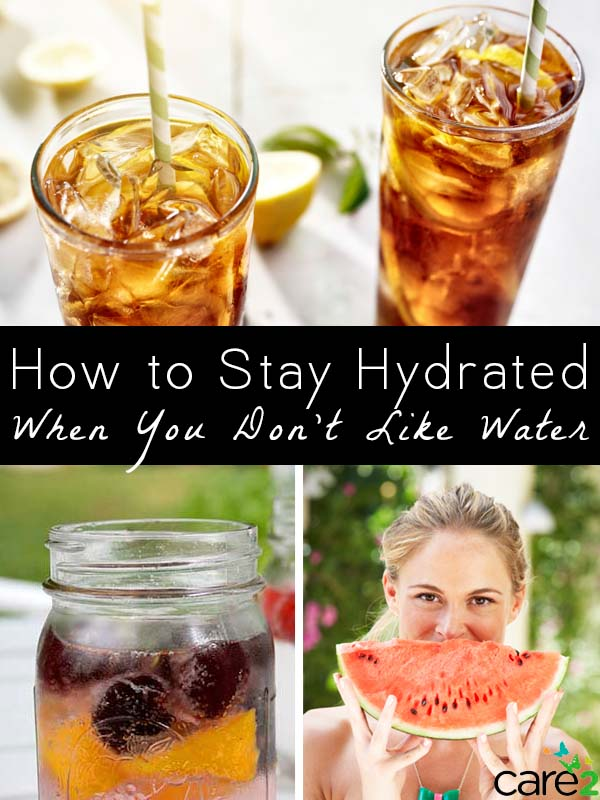 If a tall, cold glass of water is not really your thing, hitting your daily water needs can seem out of reach. Here are some healthy ways to stay hydrated, even if you don't like plain old water.