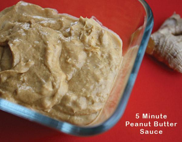 Blender Peanut Butter Salad Dressing
