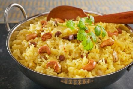Cashew/Coconut Rice Pulao