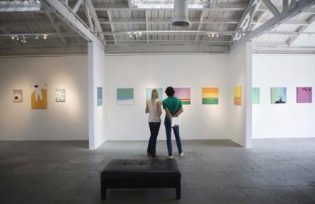 art gallery in summer