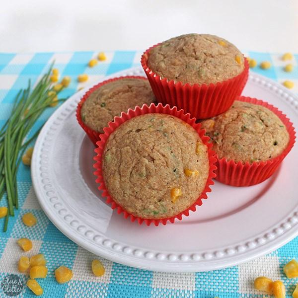Aquafaba Cornbread Muffins